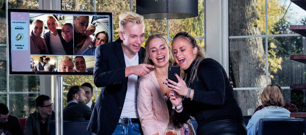 Snappshot at a party