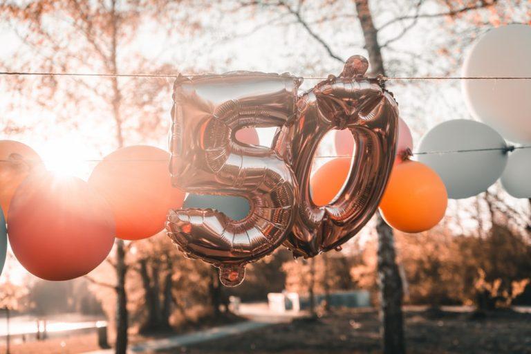50ste verjaardag