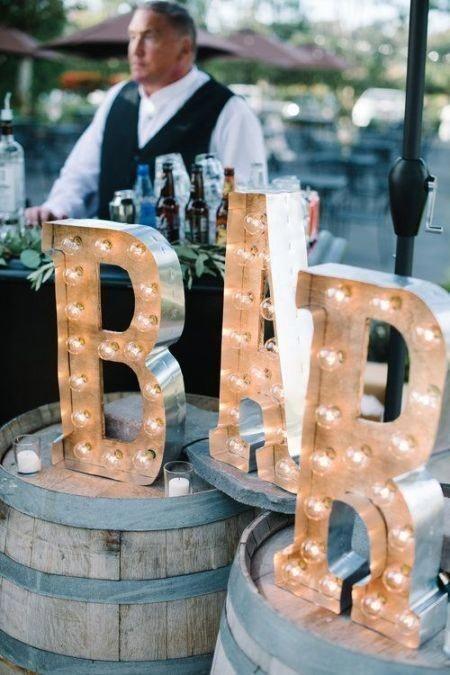 Décor | 4 Wedding Cocktail Bar Tips And 25 Ideas #WeddingFood #CocktailBar #WeddingBar #WeddingCocktail #weddingreceptionideas